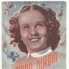 Kino - Programa Original Doble Loca por la Música-DIANA DURBIN - 165795582