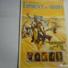 Cine: PROGRAMA LAWRENCE DE ARABIA.-ALECC GUINNESS -PUBLICIDAD. Lote 165973266