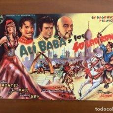 Cine: ALI BABA Y LOS 40 LADRONES NUEVO CON PUBLICIDAD. Lote 166099482