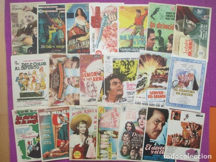 Cine: LOTE 120 PROGRAMAS DE CINE, PROGRAMA CINE, DIFERENTES, VER FOTOS ADICIONALES, LTC3 - Foto 4 - 166139198