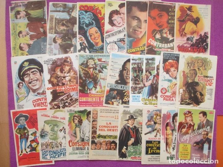 Cine: LOTE 120 PROGRAMAS DE CINE, PROGRAMA CINE, DIFERENTES, VER FOTOS ADICIONALES, LTC3 - Foto 5 - 166139198