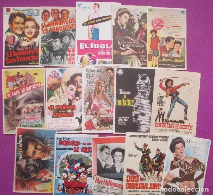Cine: LOTE 120 PROGRAMAS DE CINE, PROGRAMA CINE, DIFERENTES, VER FOTOS ADICIONALES, LTC3 - Foto 7 - 166139198