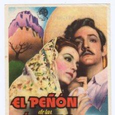 Cine: PROGRAMA AÑOS 40. . CINE DE ALCOY. EXCELENTE CONSERVACIÓN. . Lote 166333466