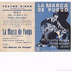 Cine: PROGRAMA DOBLE AÑOS 40. . CINE DE ALCOY. BUENA CONSERVACIÓN. . Lote 166333666