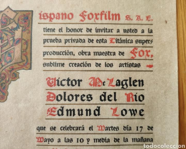 Cine: EL PRECIO DE LA GLORIA - 1926 - PRUEBA PRIVADA - CINE MUDO PATHE CINEMA PROGRAMA DE MANO PUBLICIDAD - Foto 5 - 166605410