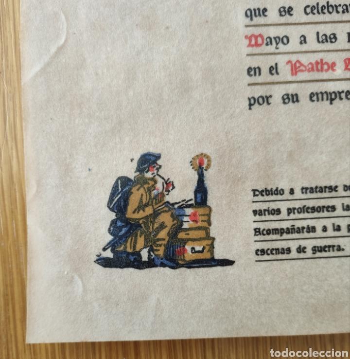 Cine: EL PRECIO DE LA GLORIA - 1926 - PRUEBA PRIVADA - CINE MUDO PATHE CINEMA PROGRAMA DE MANO PUBLICIDAD - Foto 7 - 166605410