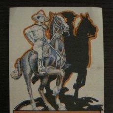 Cine: EL VAQUERO SEVILLANO-TOM MIX-PROGRAMA DE CINE TROQUELADO-VER FOTOS-(C-4298). Lote 189811957