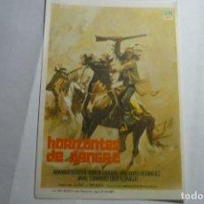 Cine: PROGRAMA HORIZONTES DE SANGRE-ARMANDO SILVESTRE. Lote 166963548
