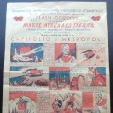 Cine: MARTE ATACA A LA TIERRA, PROGRAMA CÓMIC GRANDE, BALET BLAY, BUSTER GRABLE. Lote 167019608