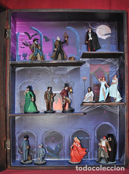 Cine: Dracula vitrina castillo con figuras - Foto 2 - 167210320