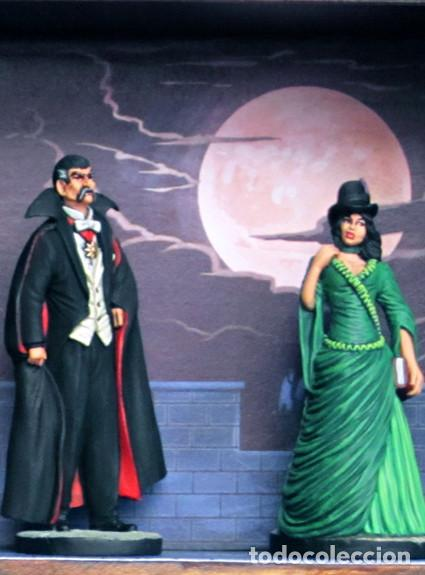Cine: Dracula vitrina castillo con figuras - Foto 6 - 167210320