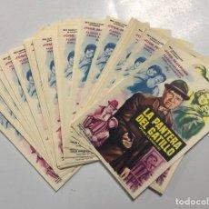 Folhetos de mão de filmes antigos de cinema: LOTE DE 50 PROGRAMAS DE CINE IGUALES. LA PANTERA DEL GATILLO. JOSE MARRONE. MEDIDAS: 15.5 X 11 CM.. Lote 167264100
