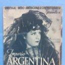 Cine: IMPERIO ARGENTINA EN GOYESCAS. Lote 167465062