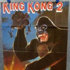 Cine: KING KONG 2. LINDA HAMILTON, JOHN GUILLERMIN. POSTER ORIGINAL. Lote 167465512
