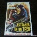 Cine: PROGRAMA DE CINE IMPRESO EN LA PARTE TRASERA. Lote 167471008