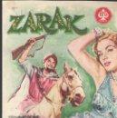 Cine: PROGRAMA DE CINE - ZARAK - VICTOR MATURE, ANITA EKBERG - GRAN ALBÉNIZ (MÁLAGA) - 1956.. Lote 167602728