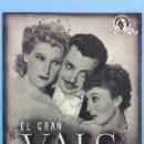 Cine: EL GRAN VALS. Lote 167734434