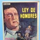 Cine: LEY DE HOMBRES. Lote 167739249