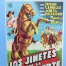Cine: LOS JINETES DE LA MUERTE. Lote 167739489