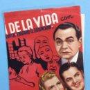 Cine: AL MARGEN DE LA VIDA. Lote 167740036