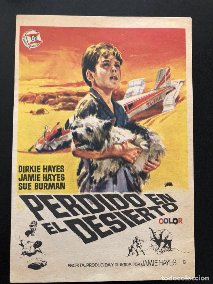 Programa Perdido En El Desierto Dirkie Hayes Comprar Aventura Folletos De Mano De Películas Antiguas De Cine En Todocoleccion 167825388