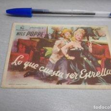 Cine - LO QUE CUESTA SER ESTRELLA / NILS POPPE / SIN PUBLICIDAD - 167959476