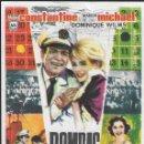 Cine: PROGRAMA DE CINE - BOMBAS SOBRE MONTECARLO - MARION MICHAEL, EDDIE CONSTANTINE - MÁLAGA CINEMA 1962. Lote 168013328