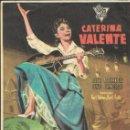 Cine: PROGRAMA DE CINE - BONJOUR, KATHRIN - CATERINA VALENTE - TEATRO CERVANTES (MÁLAGA) - 1958.. Lote 168013828