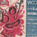 Cine: PROGRAMA DOBLE - BOY - ANTONIO VICO, LUIS PEÑA - CIFESA - CINE ALKAZAR (MÁLAGA) - 1940.. Lote 168016980