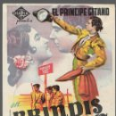 Cine: PROGRAMA DE CINE - BRINDIS AL CIELO - EL PRÍNCIPE GITANO, MARIA RIVAS - CINE AVENIDA - 1954.. Lote 168022176