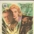 Cine: PROGRAMA DE CINE - DANAE - VITTORIO DE SICA, SANDRA MILO - CIFESA - PALACIO ERISANA (LUCENA) - 1957.. Lote 168023884