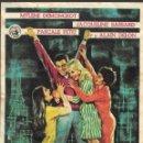 Cine: PROGRAMA DE CINE - DÉBILES MUJERES - ALAIN DELON, MYLENE DEMONGEOT - CINE ECHEGARAY (MÁLAGA) 1962. Lote 168024792