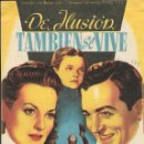 Cine: PROGRAMA DE CINE - DE ILUSIÓN TAMBIÉN SE VIVE - MAUREEN O'HARA, JOHN PAYNE - CINE ECHEGARAY (MÁLAGA). Lote 168028404