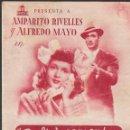 Cine: PROGRAMA DOBLE - DELICIOSAMENTE TONTOS - AMPARITO RIVELLES, ALFREDO MAYO - CINE Y JARDÍN PLUS ULTRA . Lote 168033484