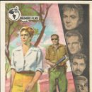 Cine: PROGRAMA DE CINE - DESERCIÓN - HILDEGARD KNEF - CINE DUQUE Y TERRAZA (MÁLAGA) - 1958.. Lote 168042324