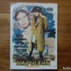 Cine: NAPOLEÒN (1957). Lote 168071904