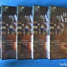 Flyers Publicitaires de films Anciens: 5 DVD - HISTORIA DEL ARTE (COMPLETA) SALVAT 2002 ''NUEVOS PRECINTADOS''. Lote 168178336