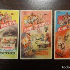 Cine: EL IMPERIO FANTASMA (3 CAPÍTULOS) 1947. Lote 168194668