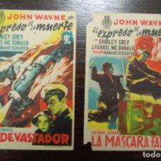 Cine: EL EXPRESO DE LA MUERTE (1947) 2 CAPÍTULOS. Lote 168195536