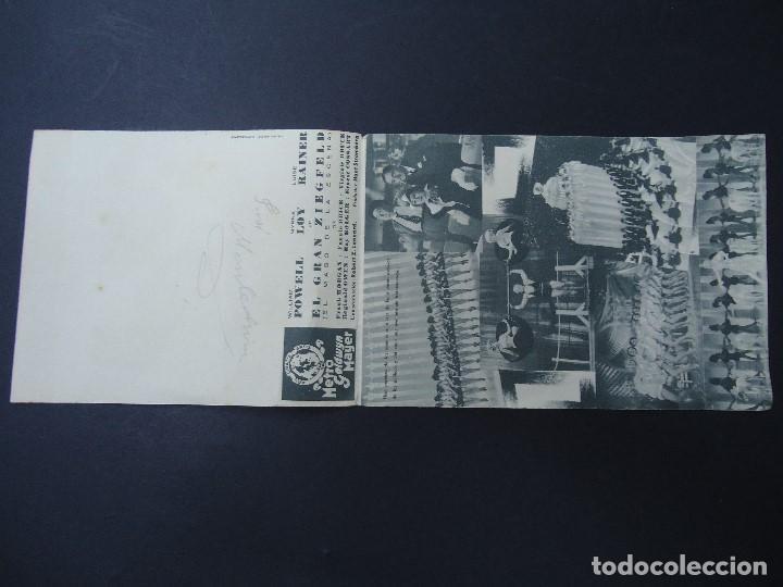 Cine: EL GRAN ZIEGFELD 1938 WILLIAM POWELL, MYRNA LOY DOBLE - Foto 2 - 168208532