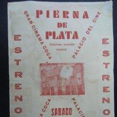 Cine: PIERNA DE PLATA 1947 CARMEN AMAYA, NELSON EDDY, CHARLES COBURN, HARRY JOE BROWN PUBLICIDAD DEL CINE. Lote 168219804
