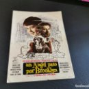 Cine: PROGRAMA DE MANO ORIG - UN ANGEL PASO POR BROOKLYN- CINES BOHEMIO Y GALILEO . Lote 168274676