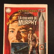 Cine: PROGRAMA LA GUERRA DE MURPHY.PETER O,TOOLE. Lote 168301904