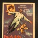 Cine: PROGRAMA EN EL CIELO PINTADO DE AZUL VOLARE.DOMENICO MODUGNO VITTORIO DE SICA.CON PUBLICIDAD. Lote 168302200