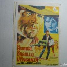 Cine: PROGRAMA EL HOMBRE EL ORGULLO Y LA VENGANZA - FRANCO NERO. Lote 168306068