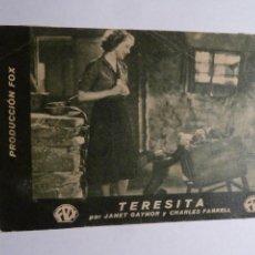 Cine: TERESITA FOLLETO DE MANO ORIGINAL ESTRENO CON CINE IMPRESO . Lote 168448044