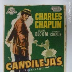 Cine: PROGRAMA DE CINE. CANDILEJAS. SIN PUBLICIDAD. CHARLES CHAPLIN.. Lote 168457196