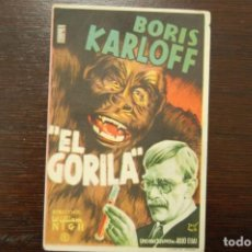 Cine: EL GORILA (1945). Lote 168506992