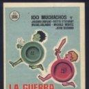 Cine: P-1117- LA GUERRA DE LOS BOTONES (LA GUERRE DES BOUTONS) (CINE TRAJANO - MERIDA) ANDRÉ TRETON. Lote 168612282