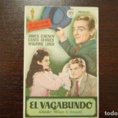 Cine: EL VAGABUNDO (1946). Lote 168659916